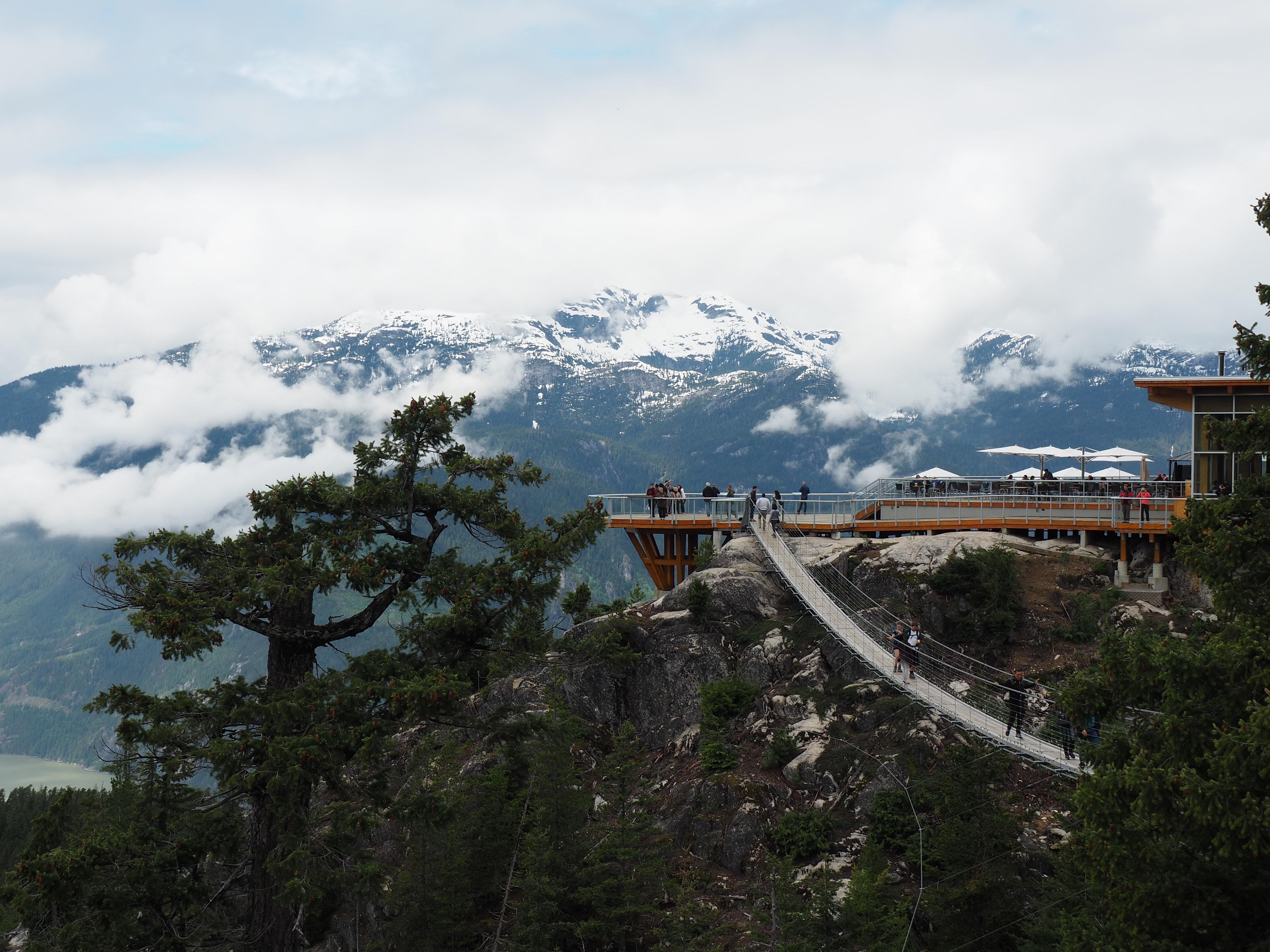 Photo: Marie-Julie Gagnon Paysage des sommets/ Squamish