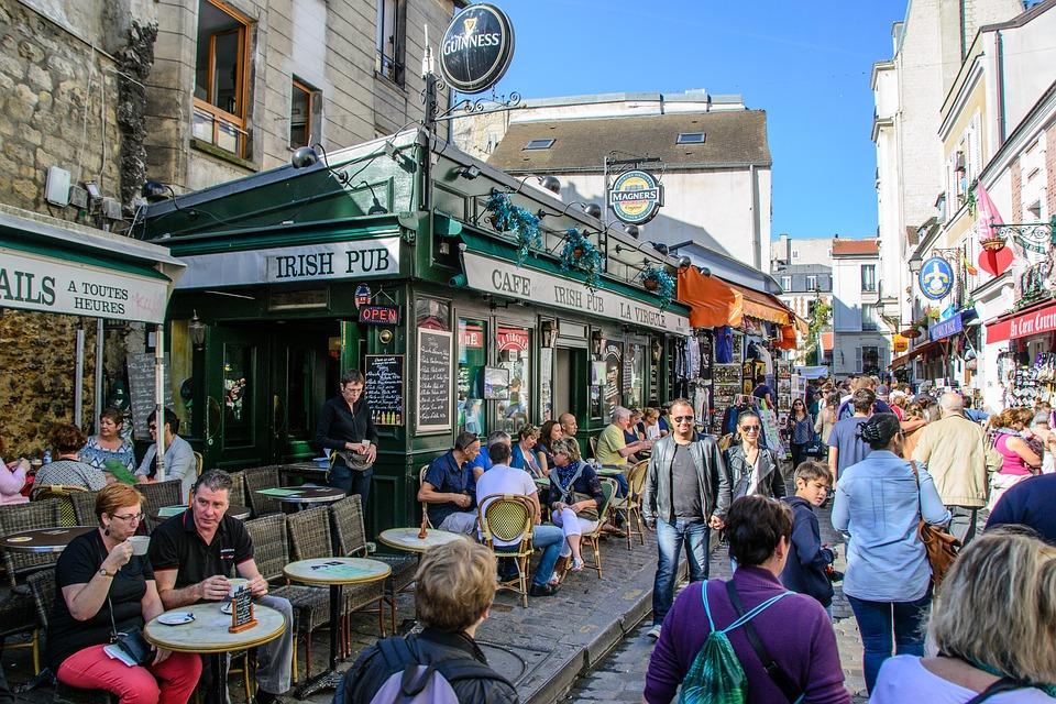 Photo: Pixabay Montmartre sous influence touristique