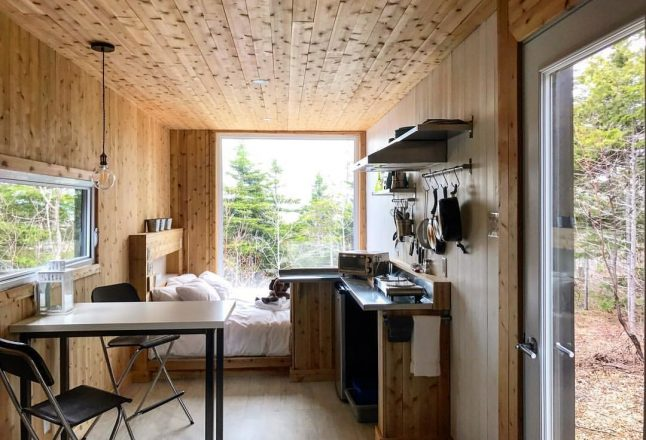 5 mini-chalets au design grandiose