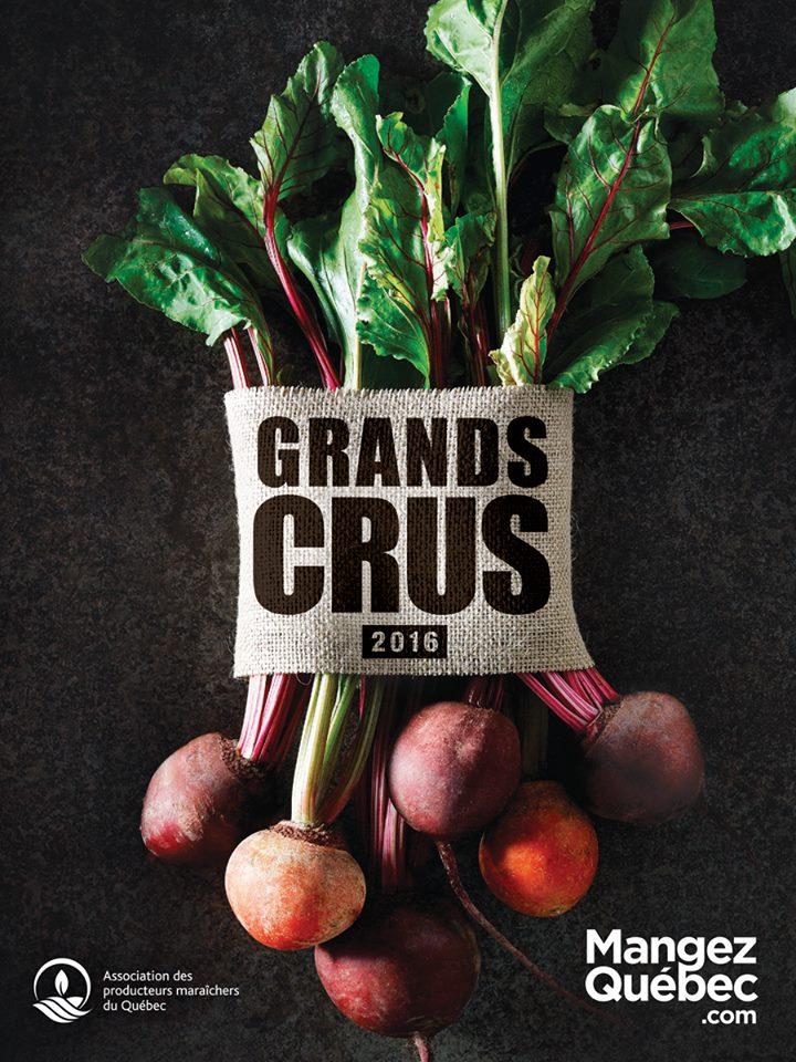 La campagne Grands Crus 2017 met en valeur des produits maraîchers québécois Photo: Facebook Mangez Québec