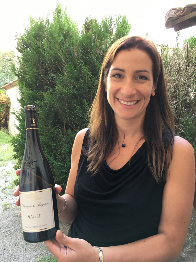 Amélie Dugue-Couillaud, des vins des Frères Couillaud. Photo: Marie-Julie Gagnon
