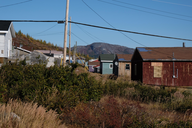 La communauté de Nain au Labrador. Photo: Véronique Leduc