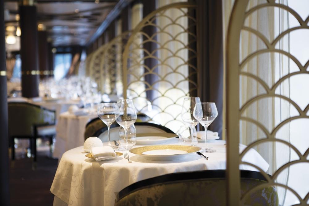La salle à manger du restaurant Chartreuse.