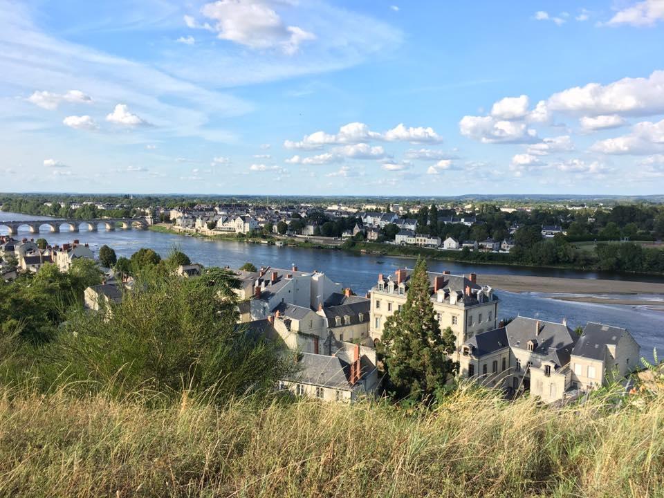 Vue sur la Loire, de Saumur. Photo: Marie-Julie Gagnon