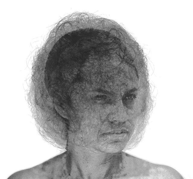 Sleepwalker 2, 2014. Claudia Bernal. Estampe, impression digitale. 84 x 107 cm. © L'Artothèque