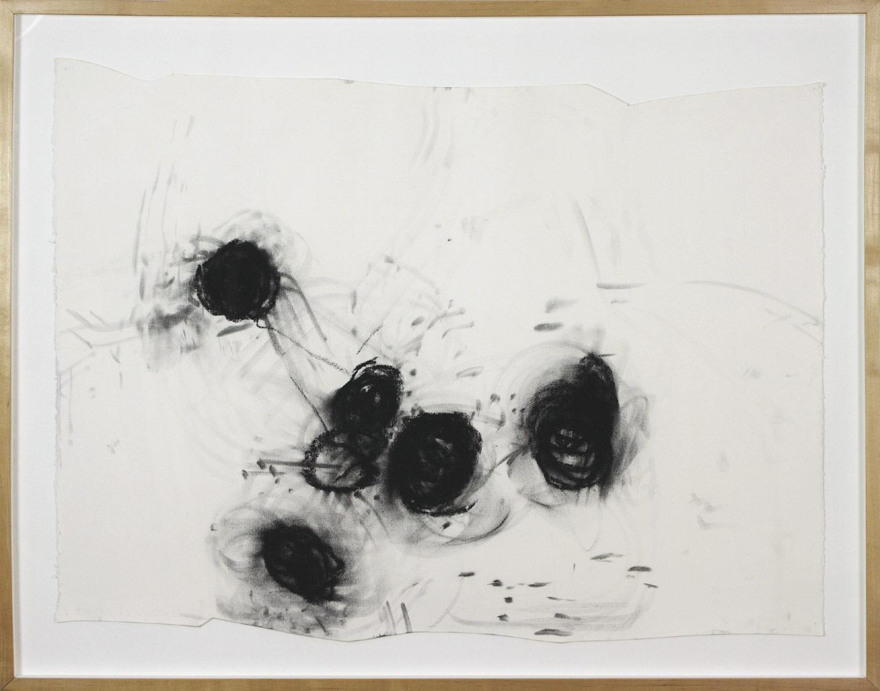 Charbonner l'aveugle 1, 1998. Renée Lavaillante. Pastel sec sur papier. 97 x 123 cm. © L'Artothèque