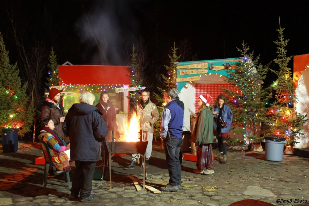 Photo: Facebook Marché de Noël de Tadoussac