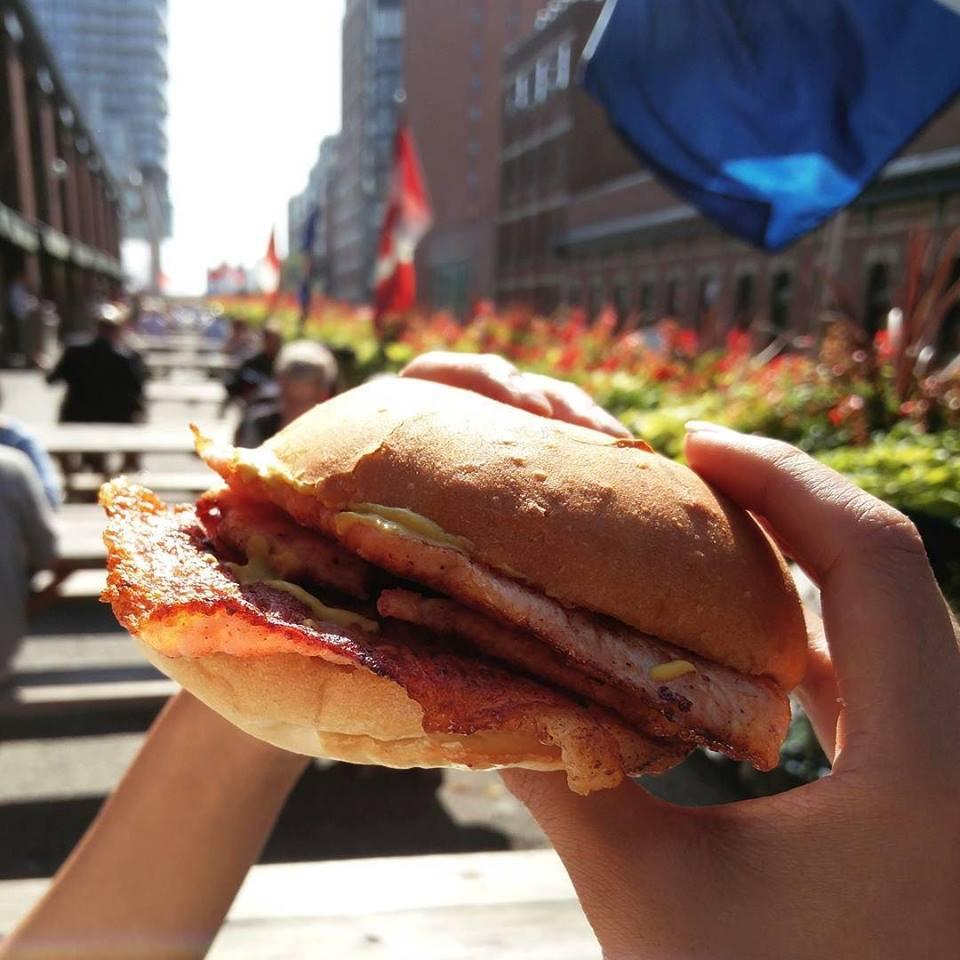 Le sandwich a fait la réputation de la boulangerie Caroussel Bakey de Toronto