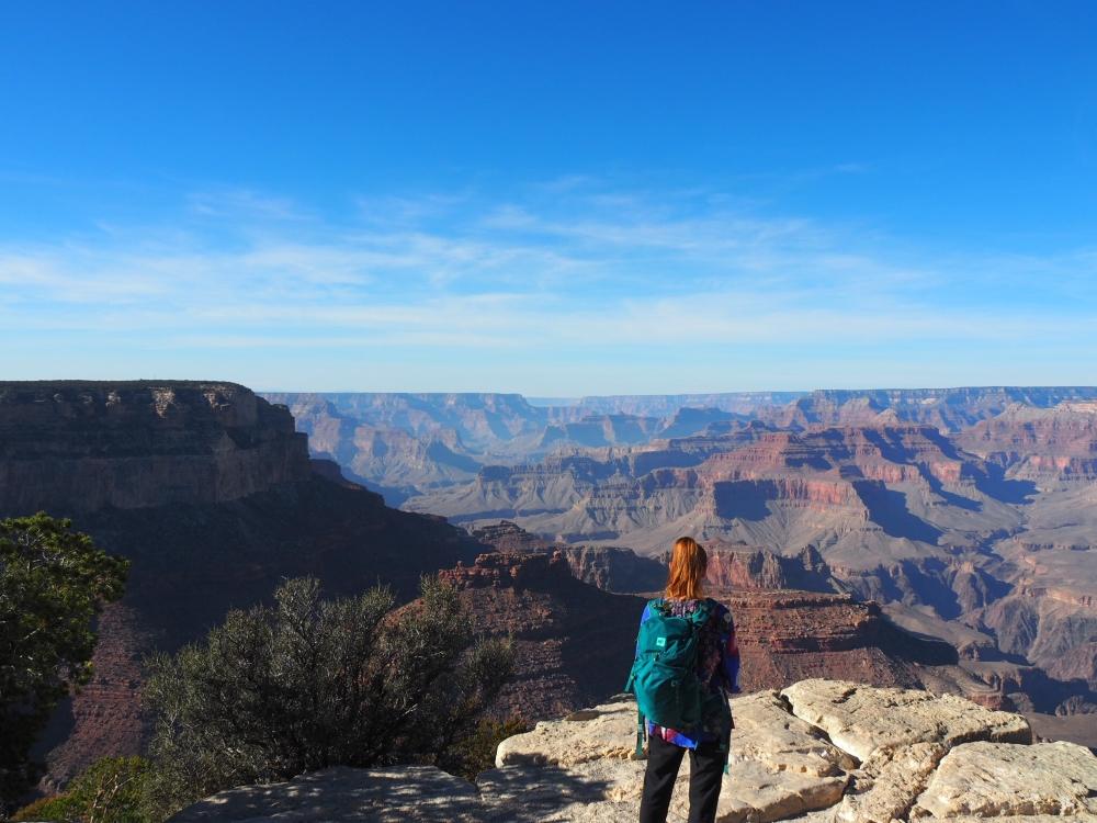 S'émerveiller devant le Grand Canyon