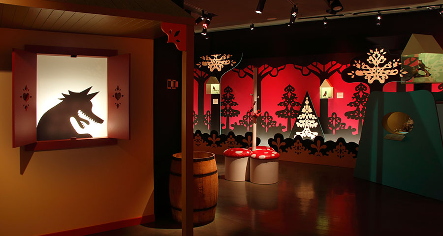 Tohu-Bohu au pays des contes Photo: Marilyn Aitken site web Musée McCord