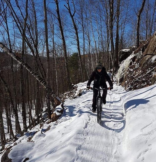 Photo: Instagram Vélo Mont-Tremblant