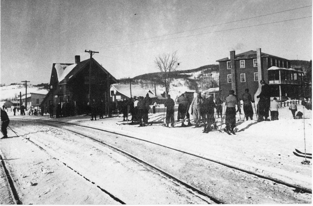 Photo: Musée du ski des Laurentides
