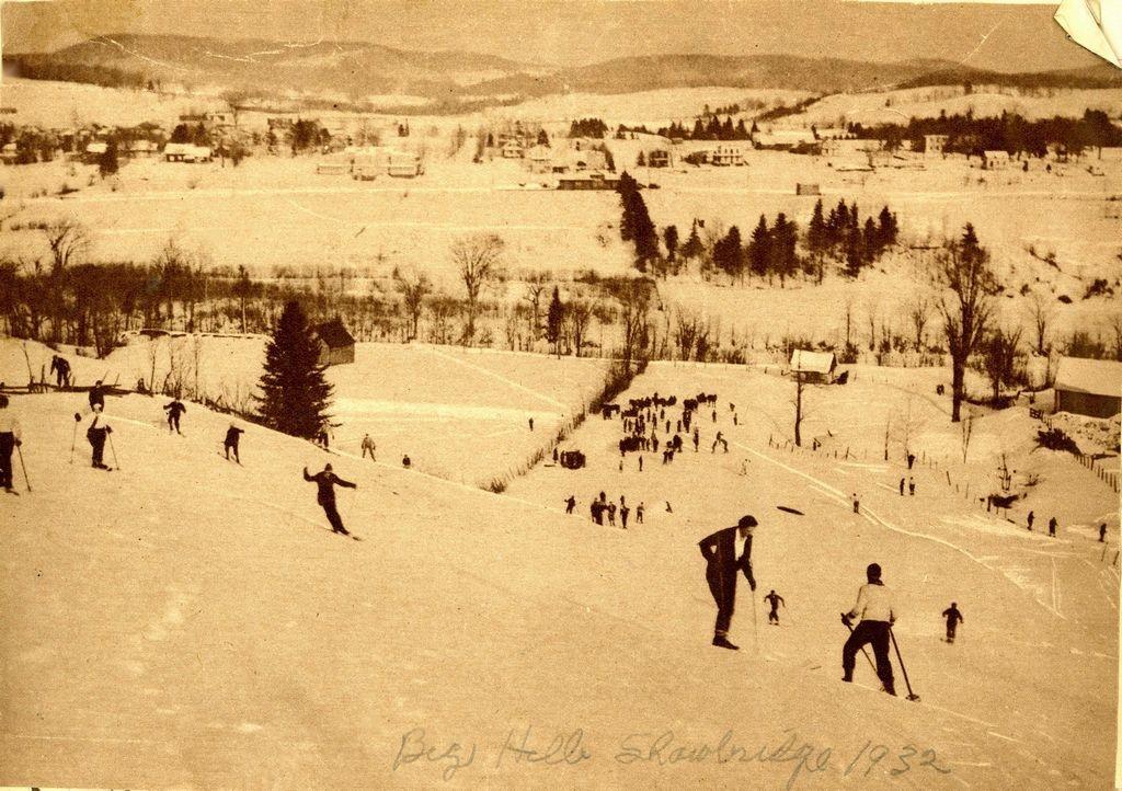 Photo: Don de Bernard Brazeau, Musée du Ski des Laurentides