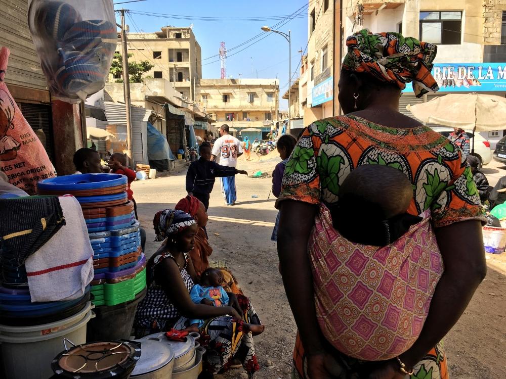 Au Marché Tilène, à Dakar. Photo: Marie-Julie Gagnon