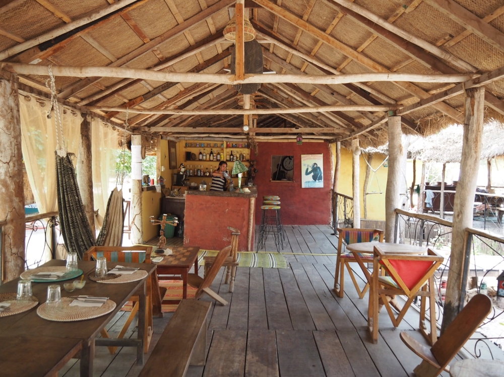 Bonobo Lodge. Photo: Marie-Julie Gagnon