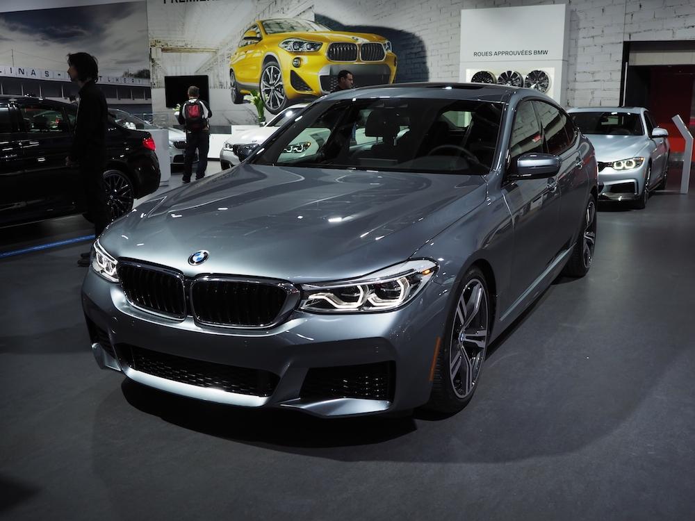 La BMW Series 6 Grand Turismo. Photo: Maxime Johnson