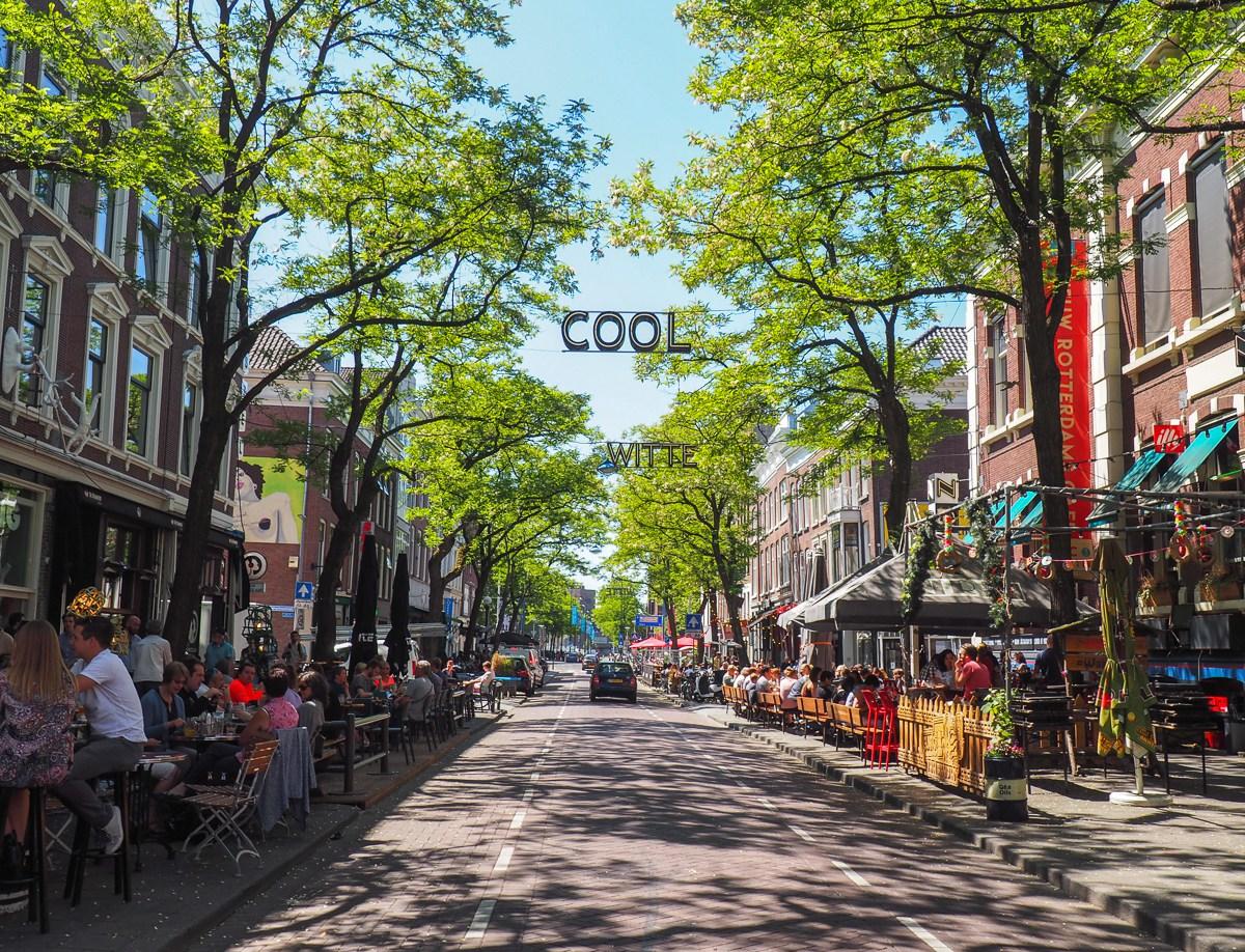 Rotterdam a gagné l'Urbanism Award en 2014 pour la ville la plus agréable où vivre en Europe. Photo: annieanywhere.com