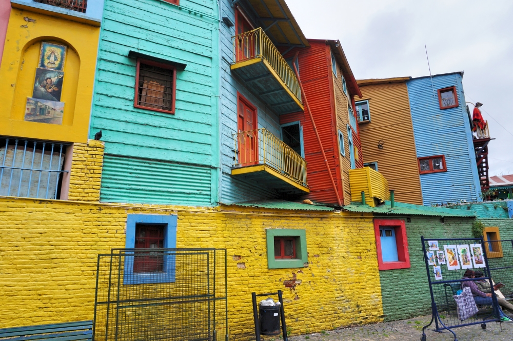 La Boca, Argentine. Photo: Pablo Nivon, Flickr