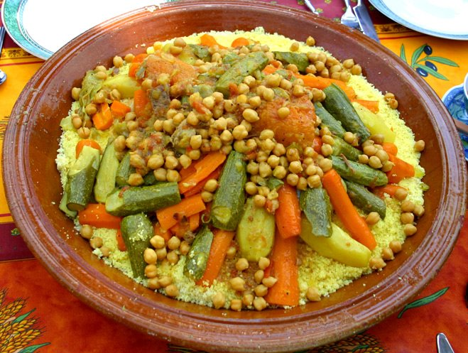 Le couscous, plat traditionnel des pays du Maghreb. Photo: Facebook Couscous @cuisinedumaghreb