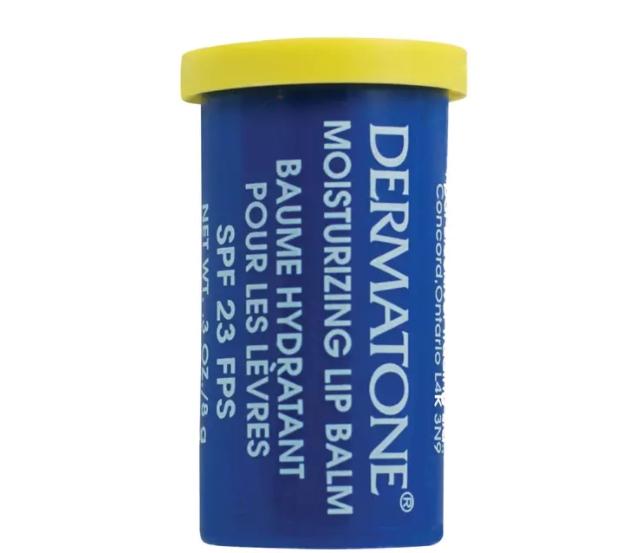 Écran solaire pour lèvres Dermatone, 4,75 $ chez MEC. Photo: mec.ca