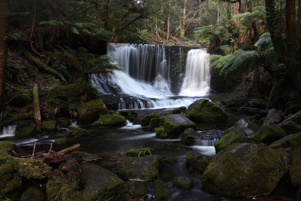 Horseshoe Falls en Tasmanie. Photo: australieqc.ca