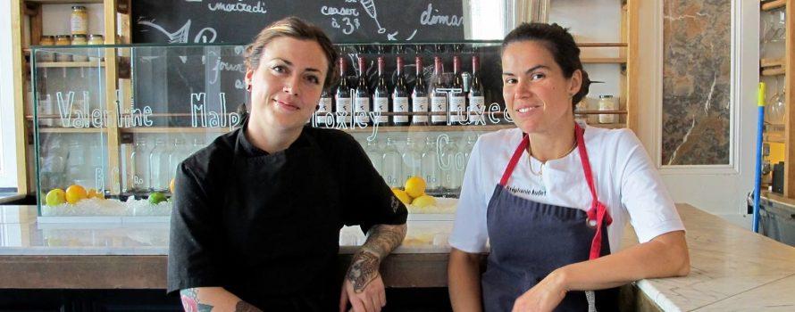 Les chefs Dominique Dufour et Stéphanie Audet. Photo: Facebook Les Femmes Chefs de Montréal