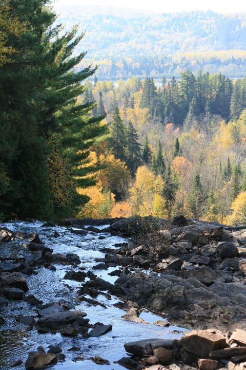 Parc des chutes de la rivière Bostonnais. Photo: Mélodie Koehren, Facebook Canada Explorez sans fin