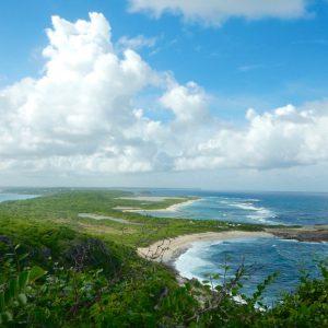 Pointe des Châteaux, Guadeloupe. Photo: Anne Pélouas