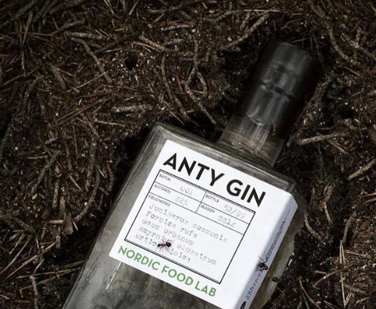 Une petite fourmi avec votre gin? Photo: Instagram Nordic Food Lab