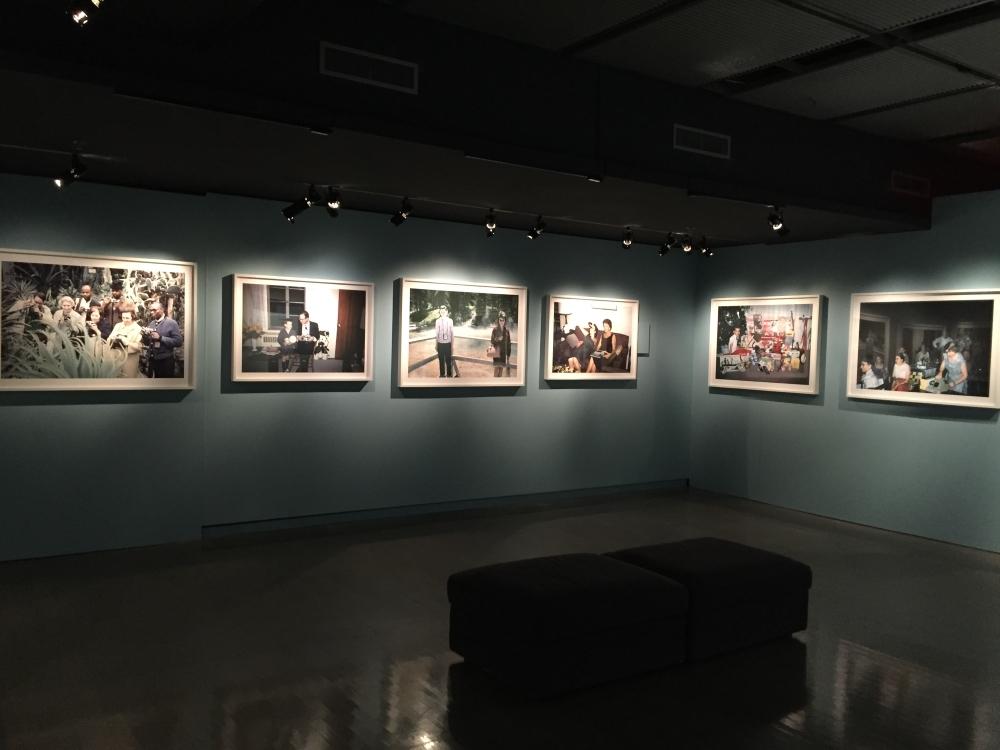 Coup d'oeil sur l'exposition Michel Campeau au Musée McCord. Photo: Claude Deschênes