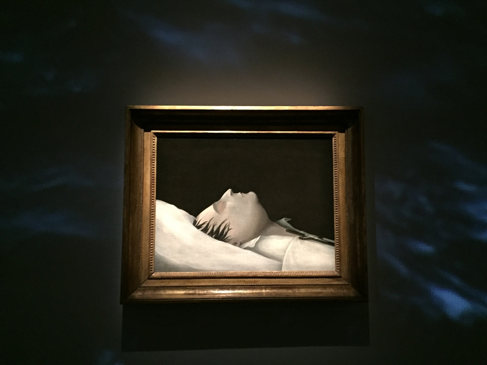 Denzil O. Ibbetson (1785-1857), Napoléon sur son lit de mort, 1821, huile sur toile.  Photo: Claude Deschênes