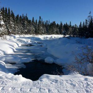 Une dernière sortie de ski de fond au Camp Mercier. Photo: Sébastien Chouinard, Facebook