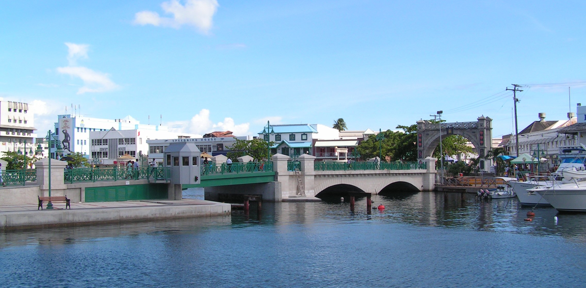 Bridgetown, une destination soleil gagne en popularité Photo: Wikimedia Commons