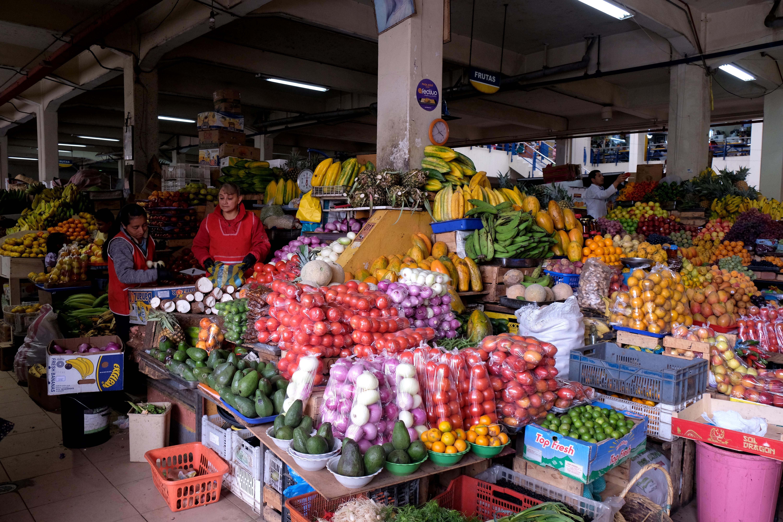 Fruits frais sur les étals des marchés. Photo: Véronique Leduc