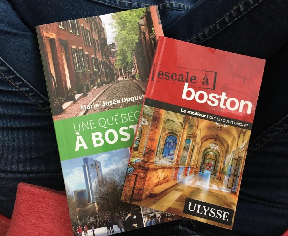 Mes deux guides de voyage. Photo: Marie-Julie Gagnon