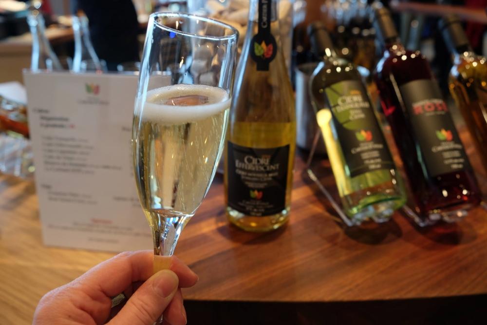 Les vins québécois. Photo: Facebook Terroir et Saveurs du Québec