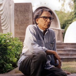 Balkrishna Doshi. Photo: courtoisie de VSF