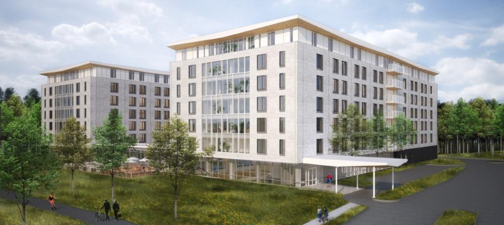 L'ouverture de ce premier complexe est prévue à la fin 2018. Photo: residencesquebec.ca