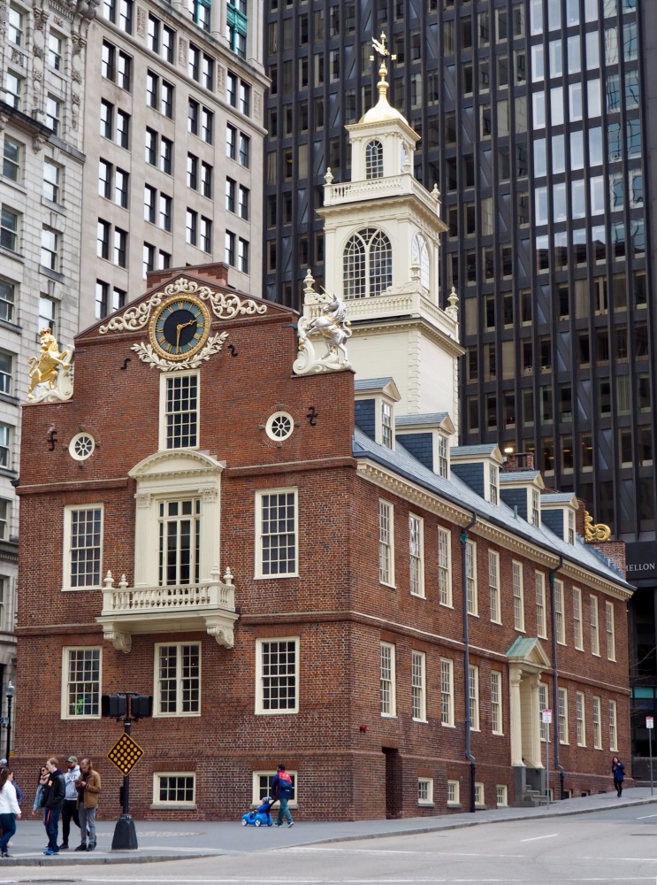 L'Old State House, une des nombreuses attractions de la Freedom Trail. Photo: Marie-Julie Gagnon
