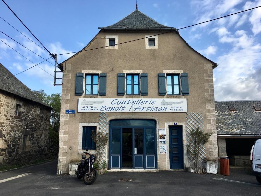 L'Atelier de Benoît l'Artisan à Aveyron. Photo: Marie-Julie Gagnon