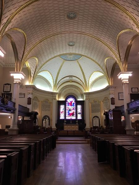 La cathédrale Holy Trinity renferme une multitude de trésors qui échappent à l'œil non averti. Photo: Marie-Julie Gagnon
