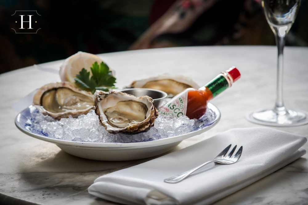 Les délicieuses huîtres du Hutchesons. Photo: Facebook Hutchesons City Grill