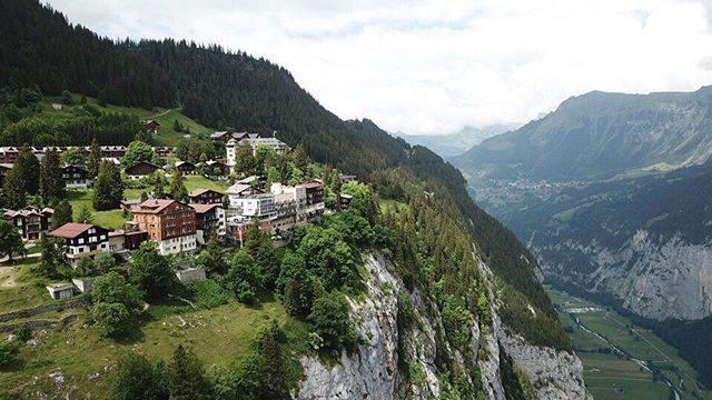 Mürren est un village sans voiture parfait pour les randonneurs. Photo: Facebook Mürren - Schilthorn 007