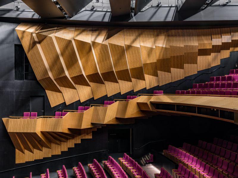 La salle de théâtre de 800 places
