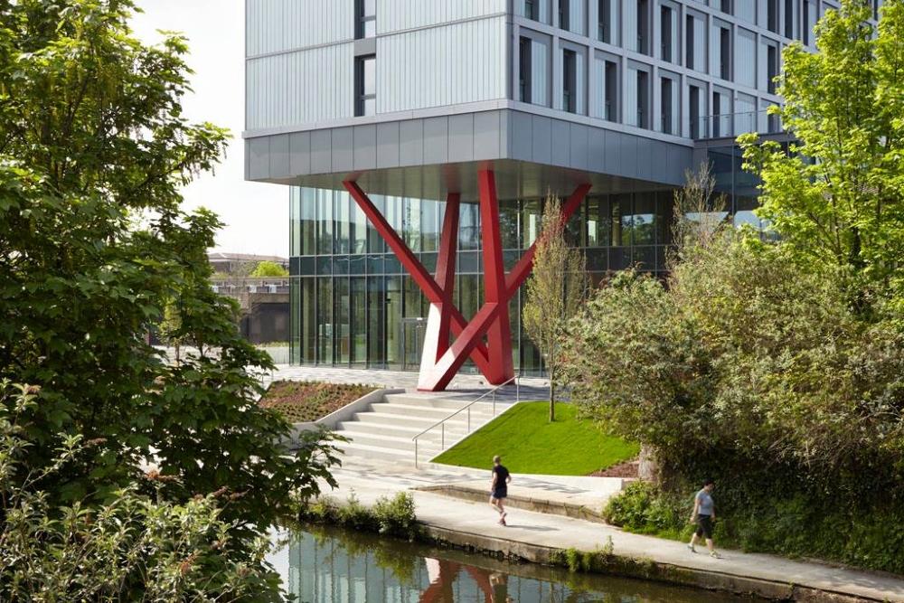 The Collective est un immeuble en cohabitation situé à Londres. Photo: Facebook The Collective