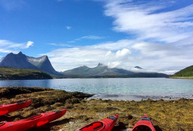 un séjour kayak-randonnée dans les fjords du nord de la Norvège qui permet d'accéder à un territoire de marche vraiment sauvage sans souci de se perdre. Photo: Anne Pélouas