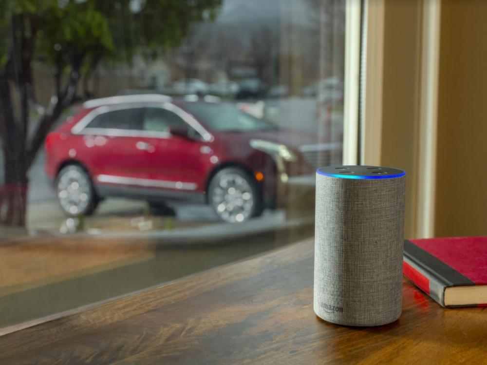 Démarrer et déverouiller les portières de la voiure : c'est possible avec Alexa et GM!