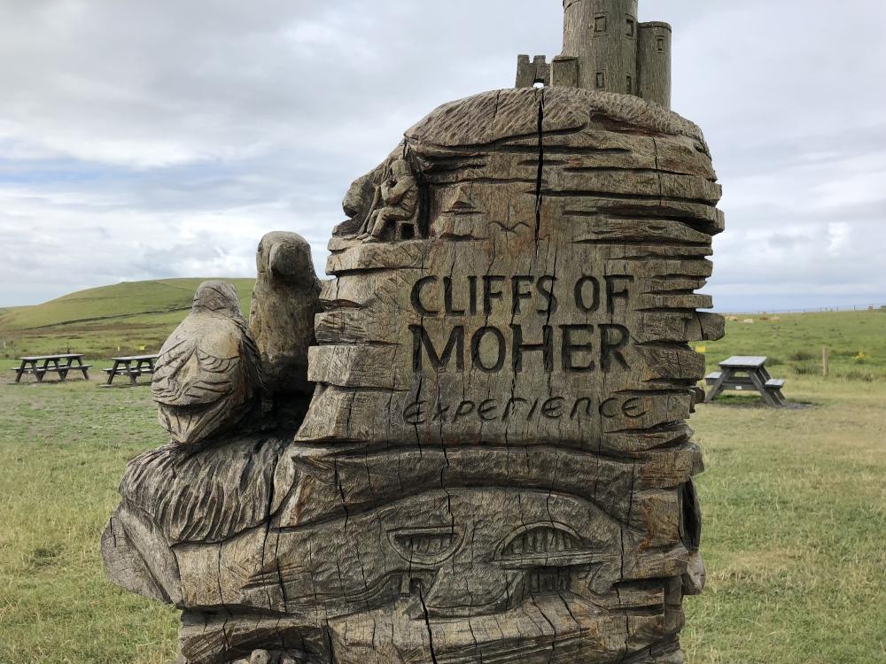 Les Falaises de Moher: un «wow» assuré. Photo: Marie-Julie Gagnon
