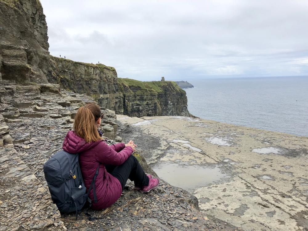 «Les points de vue m'ont presque fait oublier le fait que je portais chandail et manteau de duvet en plein mois de juillet.» Photo: Marie-Julie Gagnon