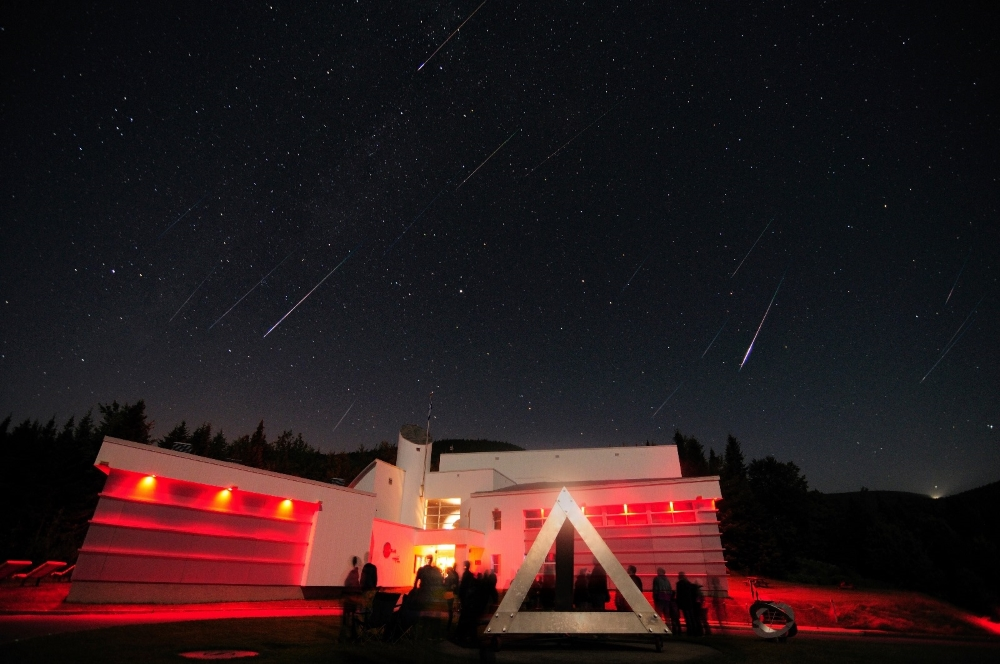 Photo: ASTROLab du parc national du Mont-Mégantic